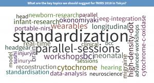 Key topics for fNIRS2018