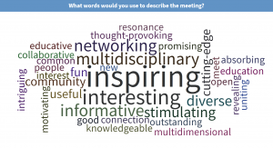 Words to describe the meeting